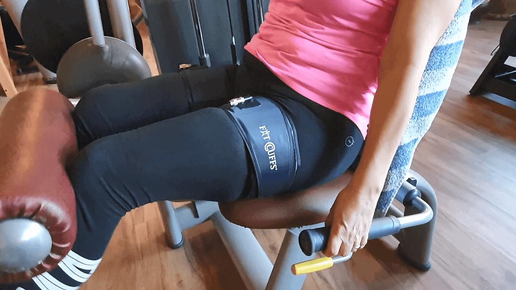 Leg Cuff V3 - Curls + Leg Press