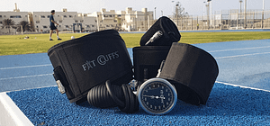fitcuffs, blood flow restriction training, bfr training, occlusion training, okklusionstræning, kaatsu