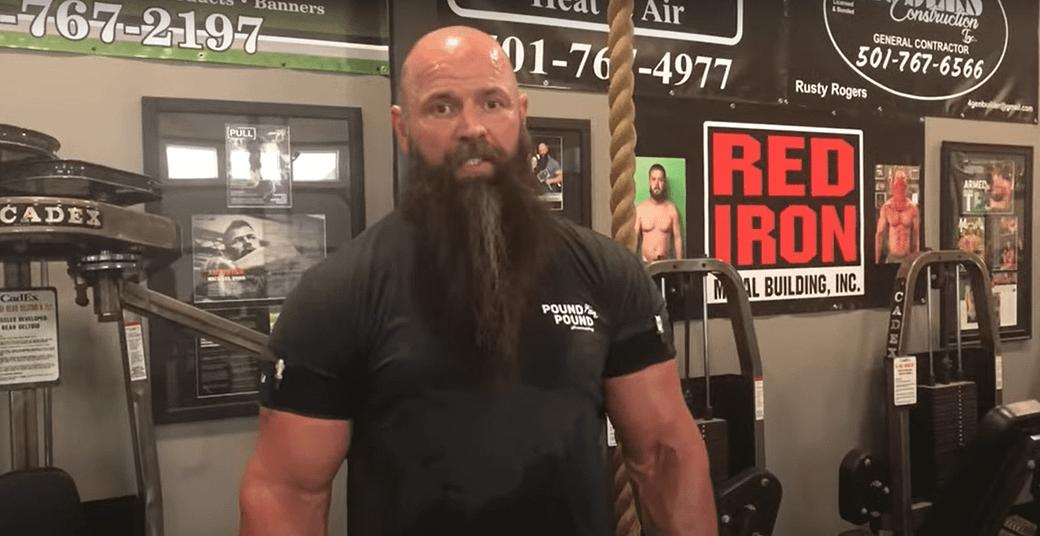Arm Wrestler Michael Todd