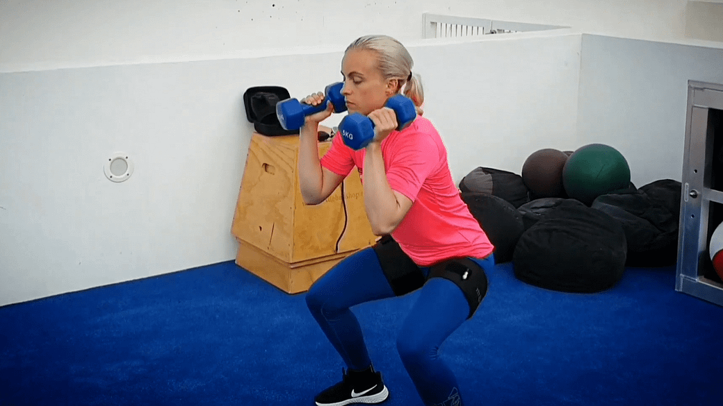 Lunges & Push- Press - Perceptual responses to BFR