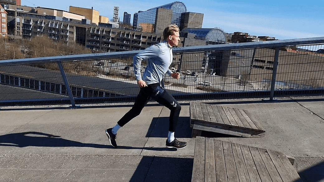 Incline Running + Lunges